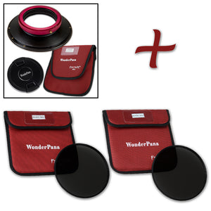 WonderPana XL Filter Holder for Sigma 14-24mm f/2.8 DG HSM Art Lens - Ultra Wide Angle Lens Filter Adapter