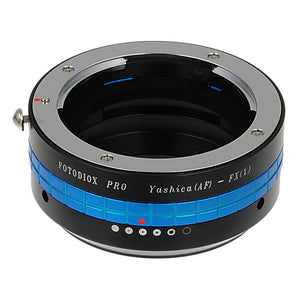 Fotodiox Pro Lens Mount Adapter - Yashica 230 AF SLR Lens to Fujifilm Fuji X-Series Mirrorless Camera Body, with Built-In Aperture Control Dial