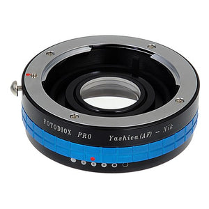 Yashica 230 AF SLR Lens to Nikon F Mount SLR Camera Body Adapter