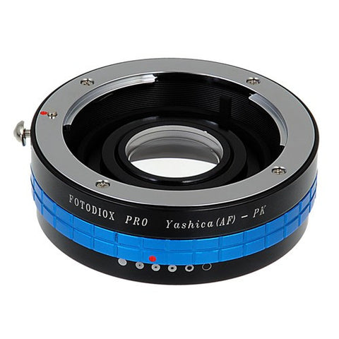 Yashica 230 AF SLR Lens to Pentax K (PK) Mount SLR Camera Body Adapter