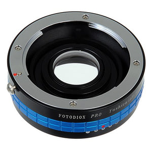 Fotodiox Pro Lens Mount Adapter - Yashica 230 AF SLR Lens to Pentax K (PK) Mount SLR Camera Body with Built-In Aperture Control Dial
