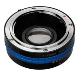 Fotodiox Pro Lens Mount Adapter - Mamiya 35mm (ZE) SLR Lens to Pentax K (PK) Mount SLR Camera Body, with Built-In Aperture Control Dial