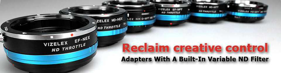 ND Throttle Lens Mount Adapters
