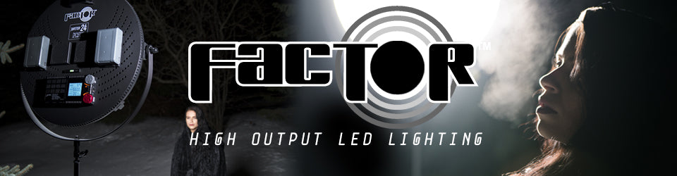 FACTOR LED Lighting Collection Banner
