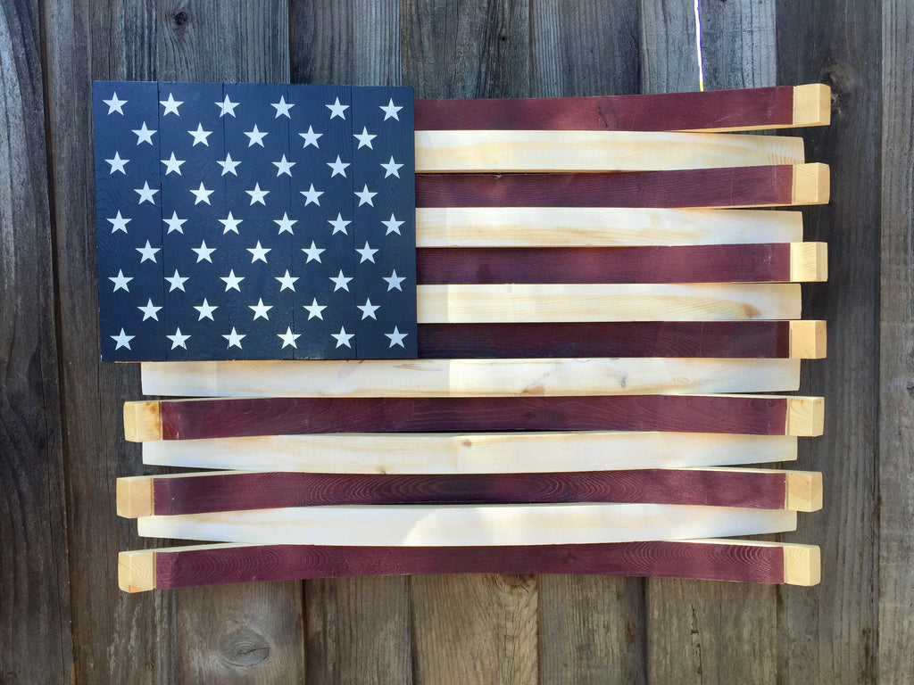 American Barrel Flag