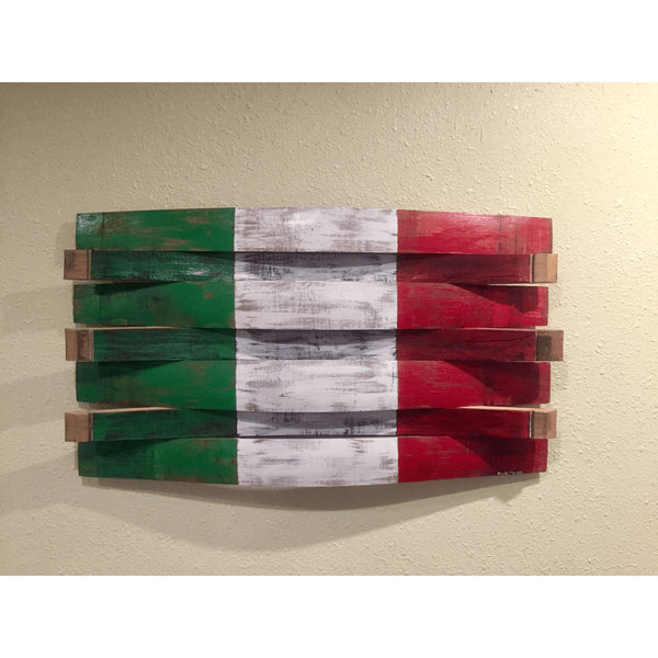 Italy Barrel Flag