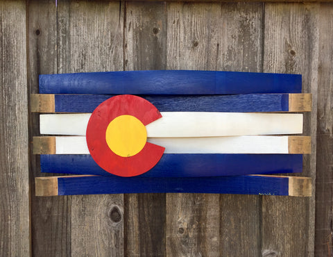 Colorado Barrel Flag