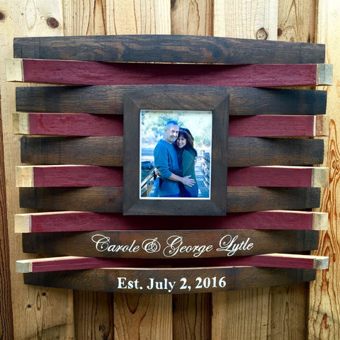 Wine Barrel Guest Book