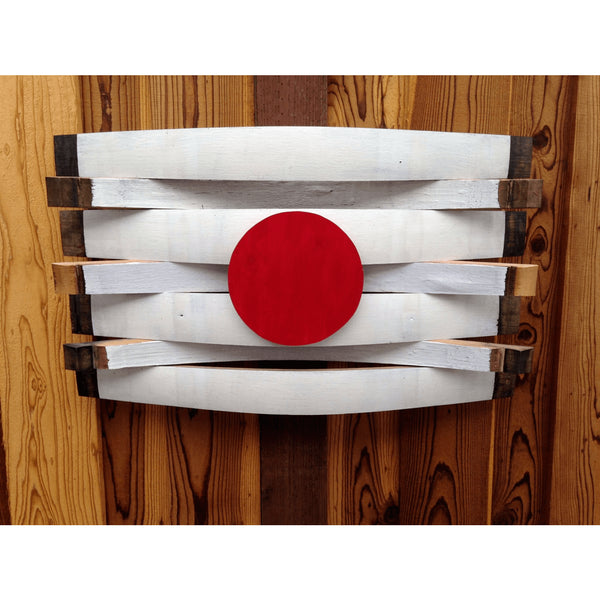 Japan Barrel Flag
