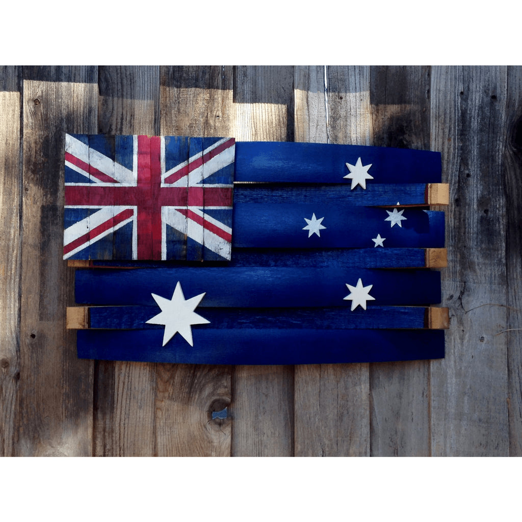 Australia Barrel Flag