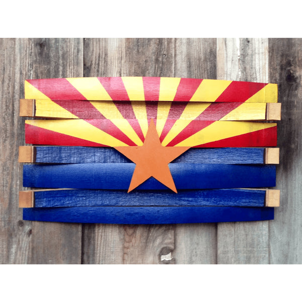 Arizona Oak Barrel Flag