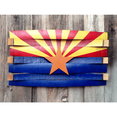 Arizona Wine Barrel Flag