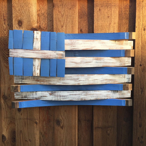 Greece Barrel Flag