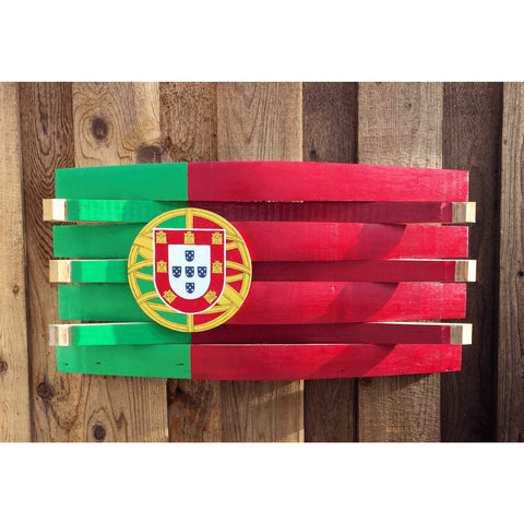 Portugal Barrel Flag