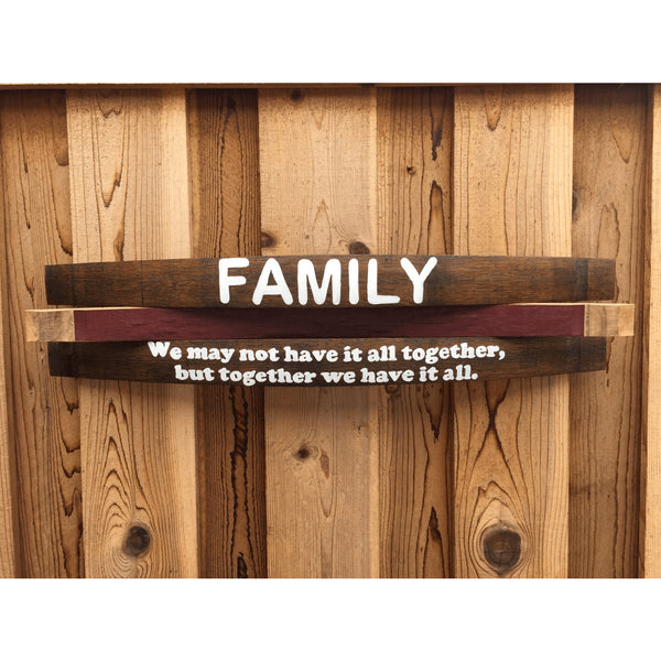 Family Wall Art Saying