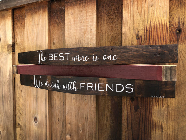 Best Friends Barrel Art