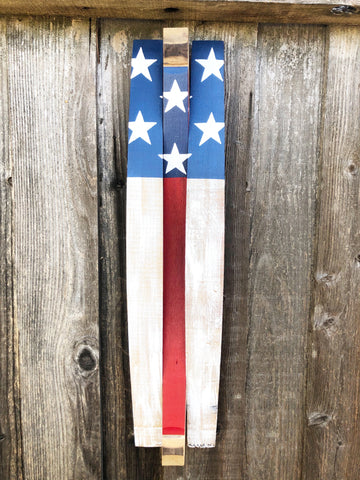 3 Stave American Flag