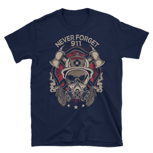 911 Never Forget Firefighter T-Shirt