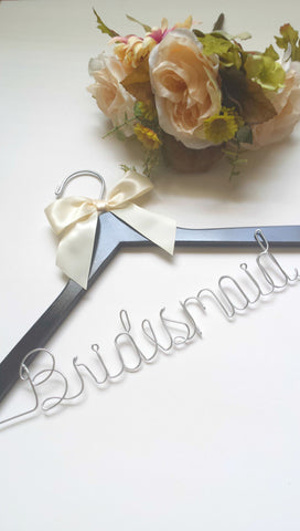 Handcrafted Bridesmaid hanger
