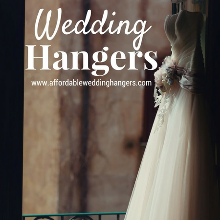 Affordable Wedding Hangers