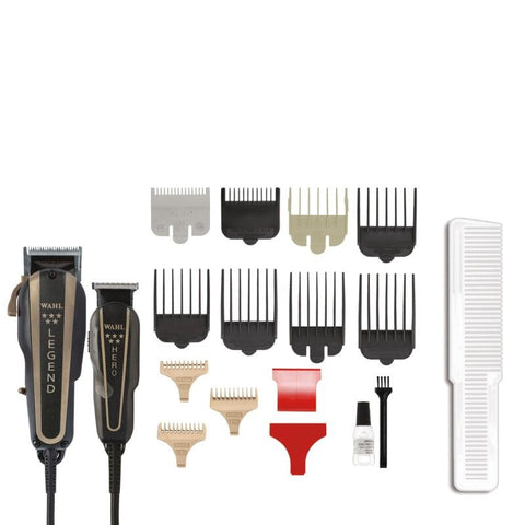 Wahl Barber Combo Clipper Trimmer Set [8180]