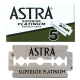 Astra Superior Platinum Double Edge Blades 100/PK