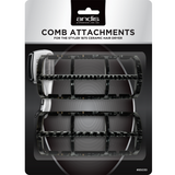 Andis Styler 1875 Wide-tooth and Fine-tooth Attachment Combs [85030]