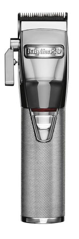 Babyliss PRO SilverFX Metal Lithium Cordless Clipper [#FX870S]