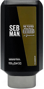 SEBASTIAN MAN THE PLAYER (MEDIUM HOLD GEL), 5.4OZ