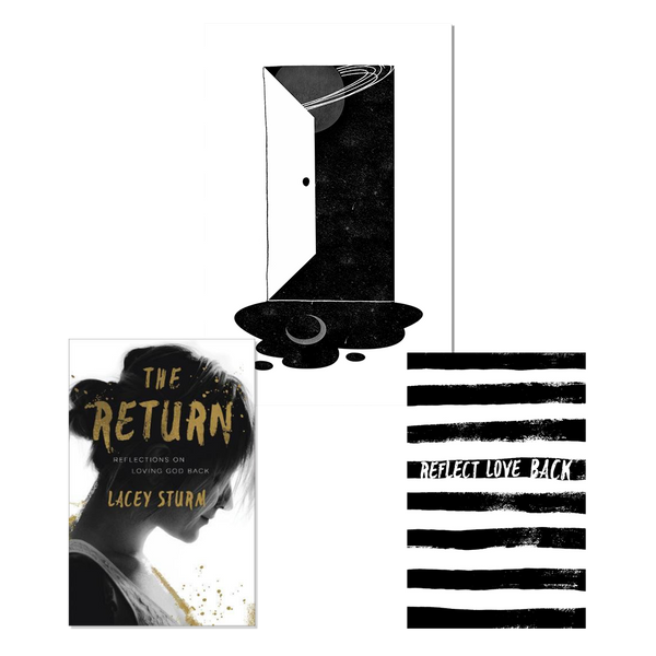 The Return Bundle 2 - Book + Journal + Art Print