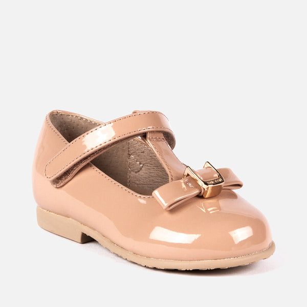 Mayoral Patent Leather T-Strap Mary Jane