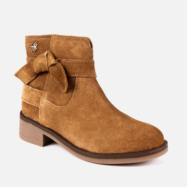 Mayoral Leather Knot Boot