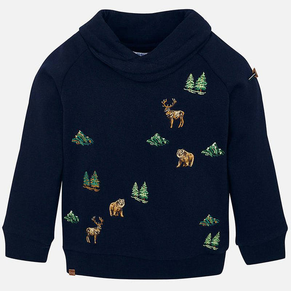 Mayoral Woodland Animals Pullover
