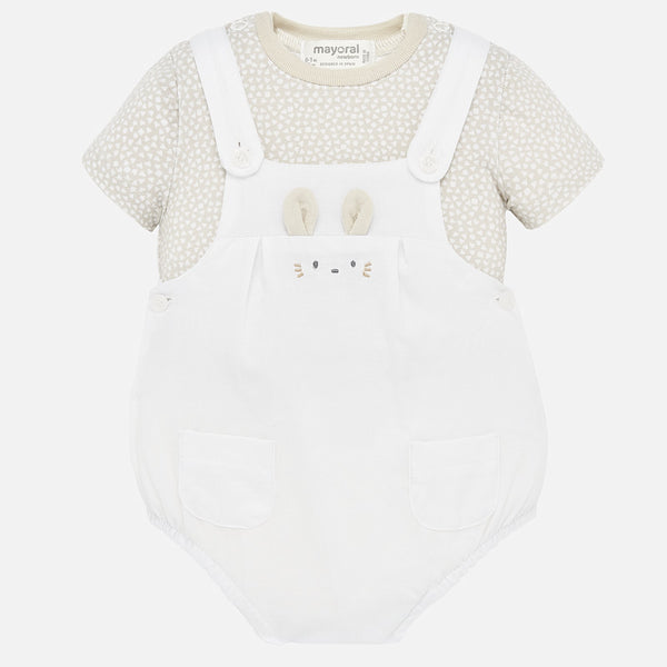 Mayoral Two Piece Bunny Shortall