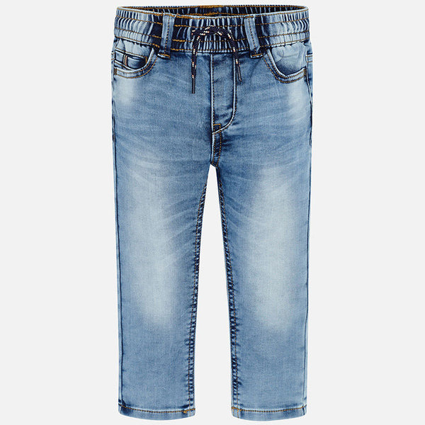 Mayoral Soft Denim Jogger Jeans