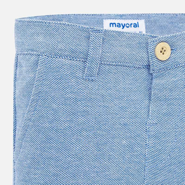 Mayoral Bermuda Knit Pique Shorts