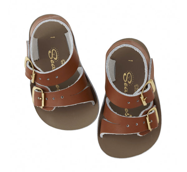 "Sun San ""Seawee"" Tan Sandals"