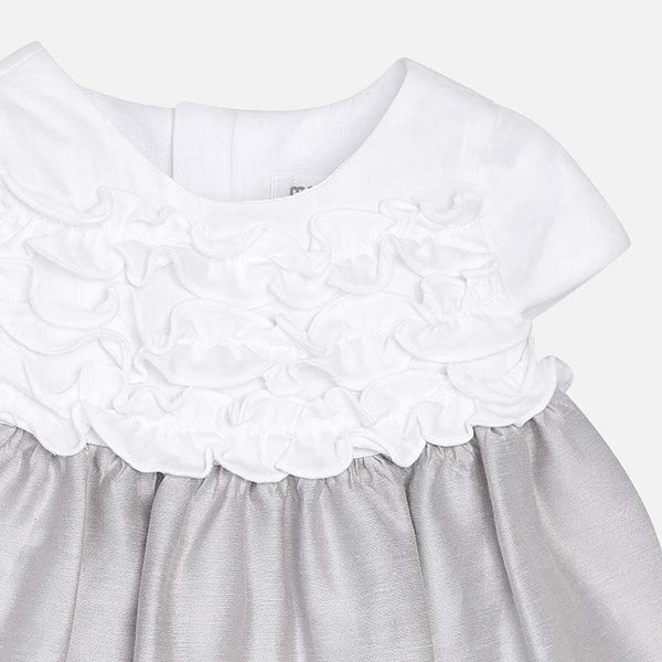 Mayoral Ruffle Dress with Bloomers