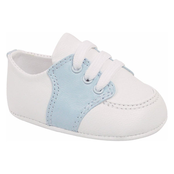 Baby Deer Two-Tone Oxford Crib Shoe