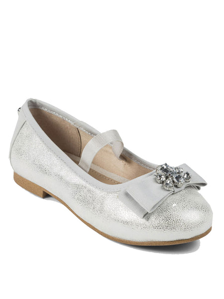 Mayoral Embellished Bow Ballet Flat