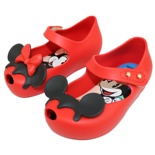 "Mini Melissa ""Mickey and Minnie"" Ears Mary Jane's"