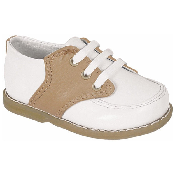 Baby Deer Two-Tone Saddle Oxford Walking Shoe