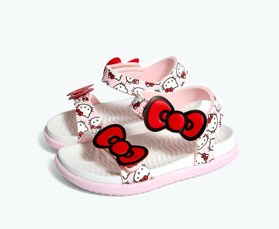 Native Charlie Bow Pink Hello Kitty Sandal