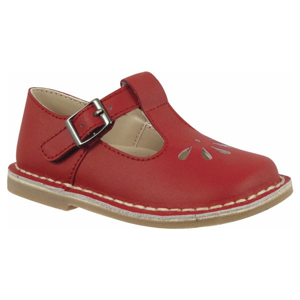 L'Amour Red Mary Jane Shoes