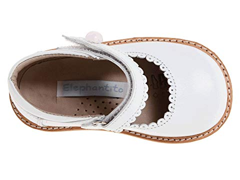 Elephantito White Mary Jane Shoe