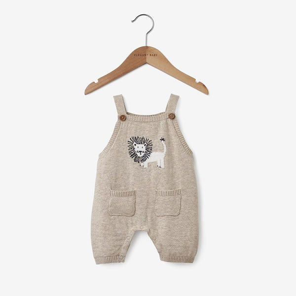 Elegany Baby Lion Knit Overall
