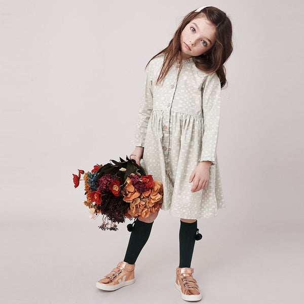 Pink Chicken Autumn Big Girl Dress