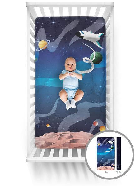 Luvsy Crib Sheet-Space Explorer
