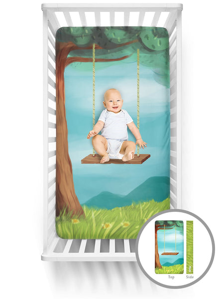 Luvsy Crib Sheet-Tree Swing