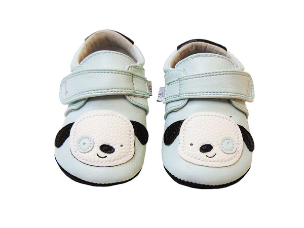Jack & Lilly Shoe - Rubber Soft Sole Leather Puppy Dog Shoe